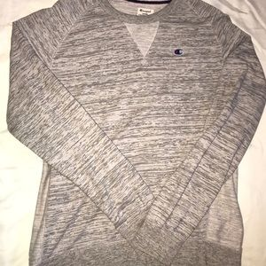Large crew neck champions sweater